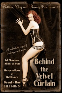 Behind the Velvet Curtain Burlesque