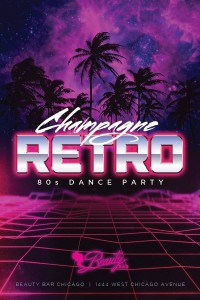 Champagne Retro - the 80s Dance Party