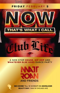 NOW That's What I Call: Club Life