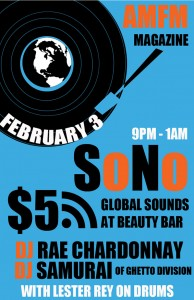 AMFM Magazine Presents: Sono Global Sounds