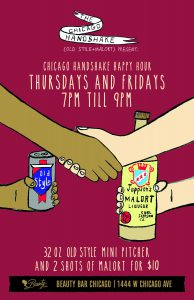 The Chicago Handshake Happy Hour