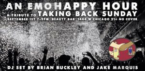The Chicago Handshake Happy Hour - The Taking Back Sunday Edition