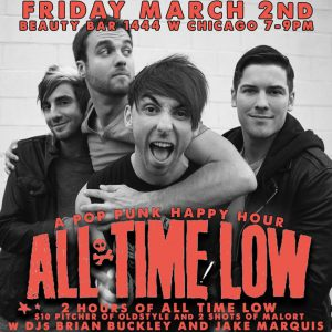 The Chicago Handshake Happy Hour - 'All Time Low' Edition