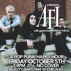 The Chicago Handshake Happy Hour - 'AFI' Edition