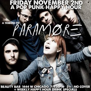 The 'Chicago Handshake' Happy Hour - 'Paramore' Edition